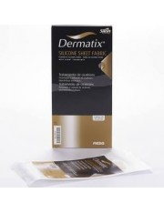 Dermatix folha de silicone fabric cor carne 4x13 cm