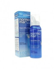Normomar água do mar esterilizada pulverização de limpeza nasal 100 ml