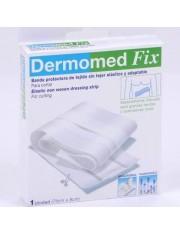 Dermomed fita adesivas fix fita tecido 75 cm x 8 cm