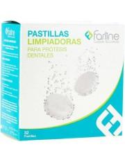 FARLINE PASTILLAS LIMPIADORAS LIMPIEZA PROTESIS 32 TABLETAS