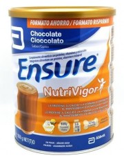 Ensure nutrivigor 850 g lata de chocolate