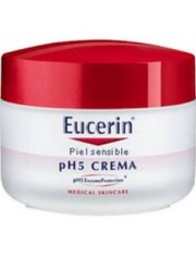 Eucerin creme jar para a pele sensível ph-5 100 ml