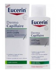 Eucerin dermocapillaire champô anti-caspa graxa 250 ml
