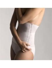 cinto farmalastic algodão velcro bege tamanho - 1(cintura 75-95 cm) cinfa