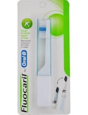 Fluocaril escova de dentes de viagem