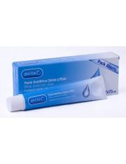 Alvita pasta de dente cálcio e flúor duplo 75 ml x 2