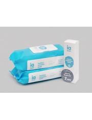 Interapothek pack creme bálsamo + 2 toalhetes 72 unidades