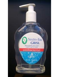 sabão mão líquido antibacteriano neutro-bac grisi 250 ml