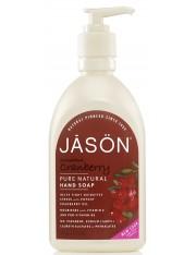Jason gel de mão cranberry vermelho 500 ml