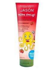 Jason kids only creme dental de morango 125 g