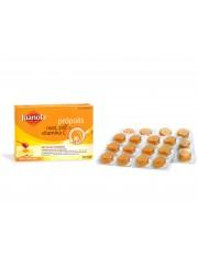 Juanola comprimidos suaves, própolis, limão, mel e vitamina C 24 comprimidos