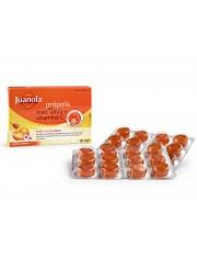 Juanola comprimidos suaves, própolis, mel e vitamina C. 24 comprimidos