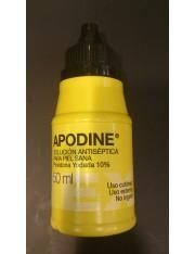 Apotex apodine povidona yodada 10% antisséptico pele saudável 50 ml