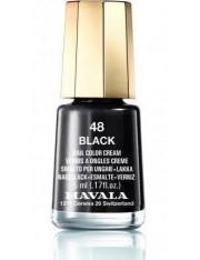 Mavala esmalte de unhas black cor 48 de 5 ml