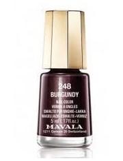 Mavala esmalte de unhas burgundy cor 248 de 5 ml