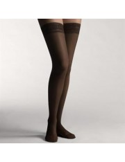 meias longas leve compressão farmalastic blonda vison tamanho-ex.g (tornozelo 26-27 cm,vitela 40-42) cinfa um par