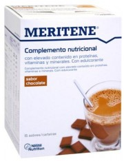 Meritene chocolate 15 envelopes