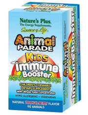 Nature´s plus animal parade kids immune booster 90 comprimidos mastigáveis