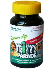Nature´s plus animal parade cereja multivitamínico 60 comprimidos mastigáveis