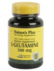 Nature´s plus l-glutamina 500 mg ruptura e recuperação muscular 60 capsulas