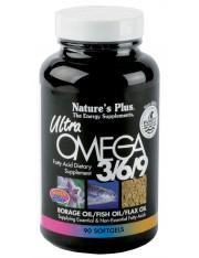 Nature´s plus ultra omega 3/6/9 90 perlas