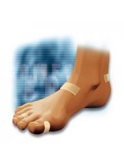 patches do dedos protetor adesivo silicone 4 unidades cc-228 comforsil