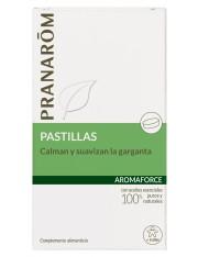 Pranarom quimiotipado aromaforce 21 pílulas, calmante e amolecimento, garganta + 6 anos
