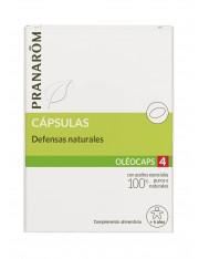 Pranarom quimiotipado oleocaps 4 defesas naturais + 6 anos 30 capsulas