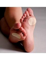 Protetor antipressure, verrugas e calos das plantas dos pes silicone tamanho unica 3 unidades farmalastic cinfa