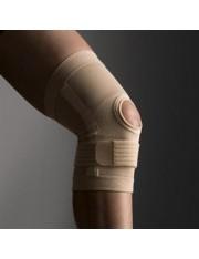 joelheira da rótula banda infrapatelar innova farmalastic bege tamanho grande(joelho40-45 cm) cinfa
