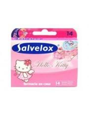 Salvelox curativo adesivo hello kitty 14 tiras para crianças