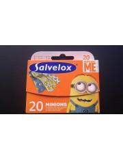 Salvelox curativo adesivo minions 20 tiras para crianças