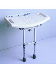 cadeira de banho dobrável parede, pernas ad538di