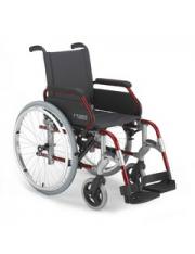 cadeira de rodas breezy sunrise 300/50 cinza