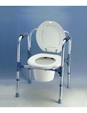 Cadeira de duche, com encosto ajustável ad-905