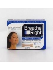 tiras nasais breathe right cor tamanho grande 30 unidades