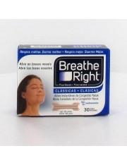 tiras nasais breathe right s-m 30 unidades