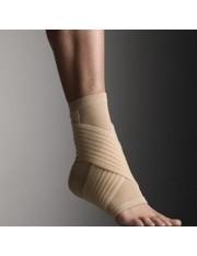 sustentação do tornozelo innova farmalastic bege tamanho medio (tornozelo 22-24 cm) cinfa