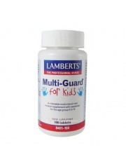 Multiguard for kids ( de 4 a 14 anos aspartame livre 100 comprimidos lamberts