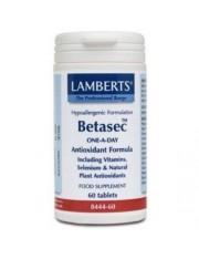 Betasec amplo espectro antioxidante 60 comprimidos lamberts