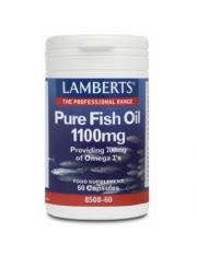 óleo de peixe puros 1100 mg.(epa 360/dha 240 mg) 60 capsulas lamberts