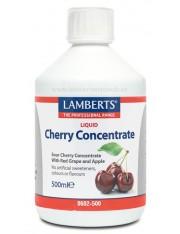 Concentrado cerejas ácidas 500 ml. lamberts