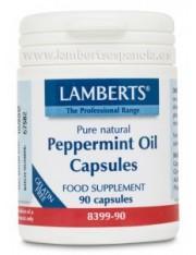 óleo de hortelã 50 mg. 90 capsulas ( digestivo ajuda) lamberts
