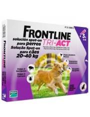 Frontline tri-act 20-40 kg 3 pipetas