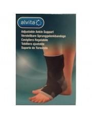 sustentação do tornozelo alvita ajustavel tamanho- 1 tornozelo contorno 20-22 cm