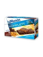 Bimanan barras chocolate komplett 8 barras