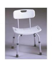 cadeira banho de alumínio ajustável ad-537-a