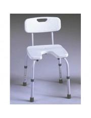 """cadeira de banho, assento em forma """"u"""" ad-537-c"""