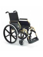 """cadeira breezy 250 assento de 43cm dourada 24"""" maciza"""