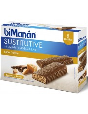 Bimanan barras toffe 40 g /320 g 8 barras